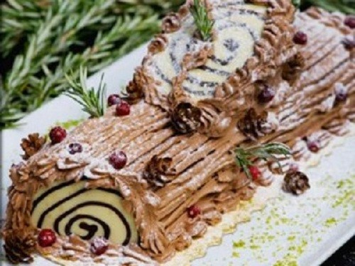 Ricetta Tronchetto Di Natale Con Panettone.Tronchetto Di Natale Al Caffe