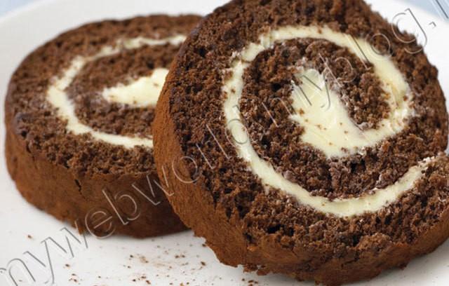 Sponge Cake Chocolat Frigo
