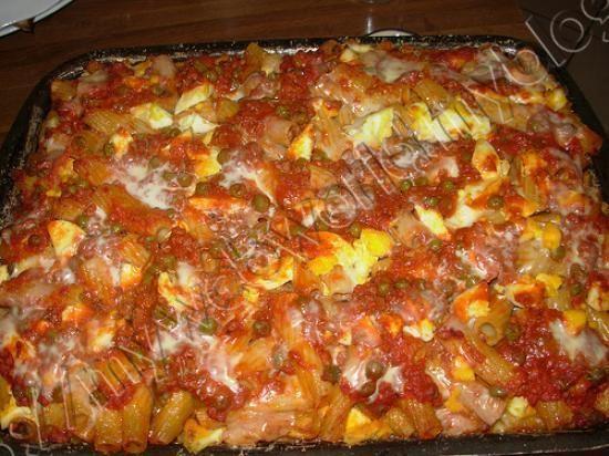 Ricetta pasta al forno con uova sode